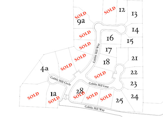 Cobble Hill Community Site Map