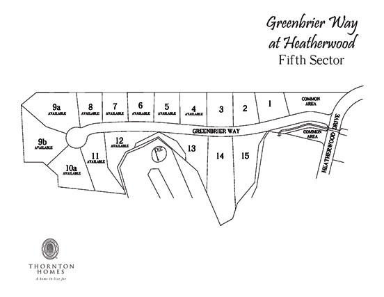 Heatherwood Site Map